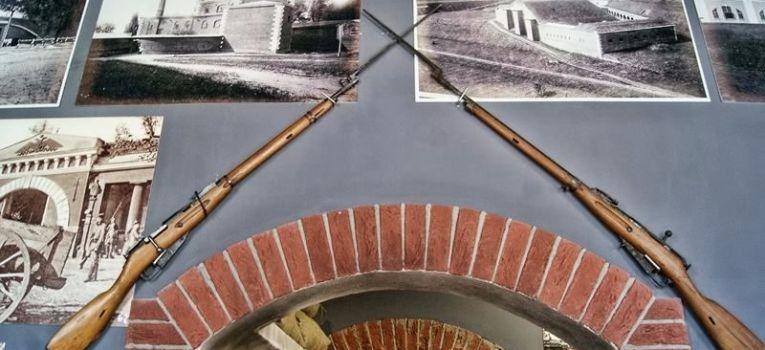 Wystawy historyczne, Muzeum Kampanii Wrześniowej Twierdzy Modlin remoncie - zdjęcie, fotografia