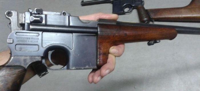 Broń palna, Mauser - zdjęcie, fotografia