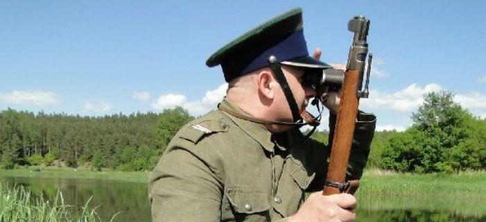 Mundury wojskowe, KAPRAL BAONU DAWIDGRÓDEK - zdjęcie, fotografia