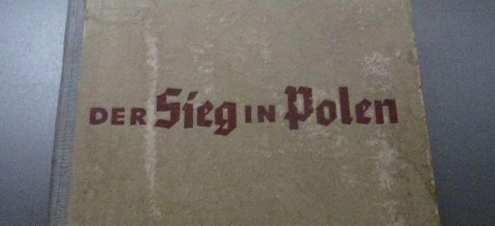 Kolekcje, Książka Polen materiał propagandowy Rzeszy - zdjęcie, fotografia