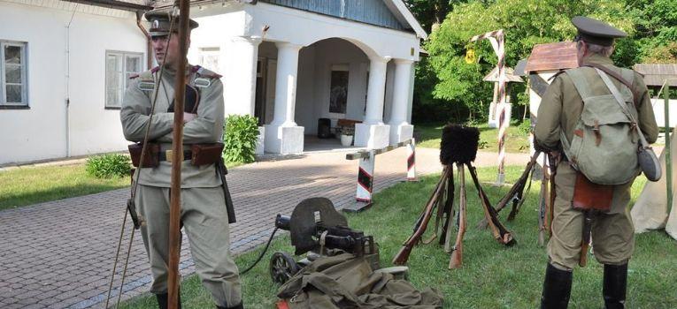Wystawy historyczne, Wizyta 14pss Muzeum Złotym Potoku - zdjęcie, fotografia