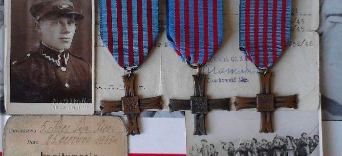 Wspomnienia, Żołnierze generała Andersa Część - zdjęcie, fotografia