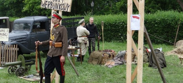 Imprezy historyczne, Grenadier - zdjęcie, fotografia
