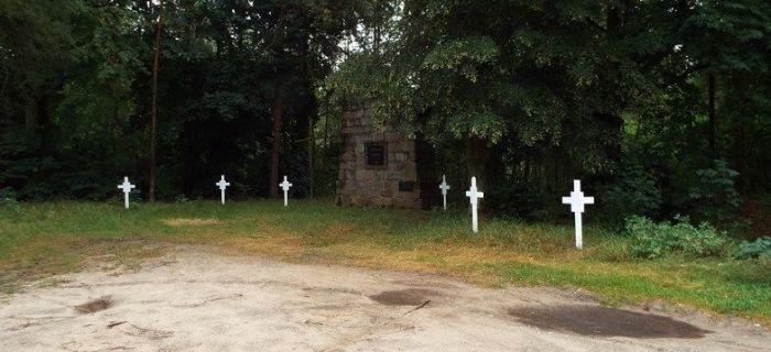 Identyfikacje historyczne, Kamion Rawką cmentarz żołnierzy niemieckich wojny światowej - zdjęcie, fotografia