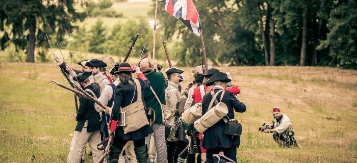 Imprezy historyczne, Konfederacji Tomahawki Muszkiety - zdjęcie, fotografia