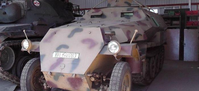 Wystawy historyczne, Podlaskie Muzeum Techniki Wojskowej Użytkowej - zdjęcie, fotografia