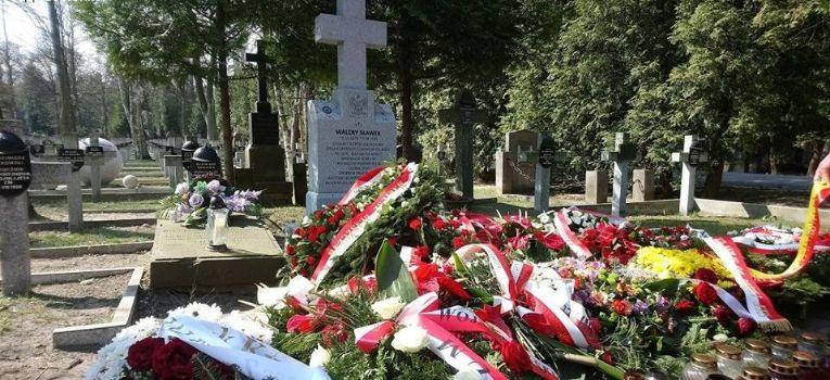 Imprezy historyczne, Katyński Marsz Cieni warszawskie cmentarze - zdjęcie, fotografia