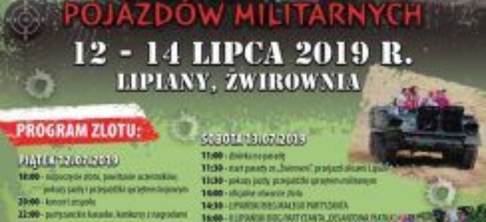 Imprezy historyczne, Pojazdów Militarnych Lipiany - zdjęcie, fotografia
