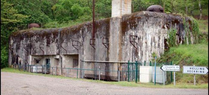 Bunkry i fortyfikacje, Linia Maginota Hackenberg - zdjęcie, fotografia