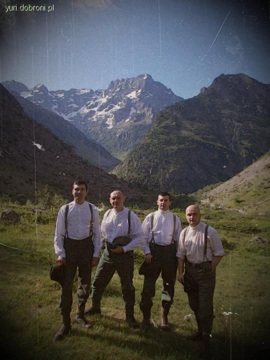 Imprezy historyczne, Projekt Edelweiss Rouies 3589m - zdjęcie, fotografia
