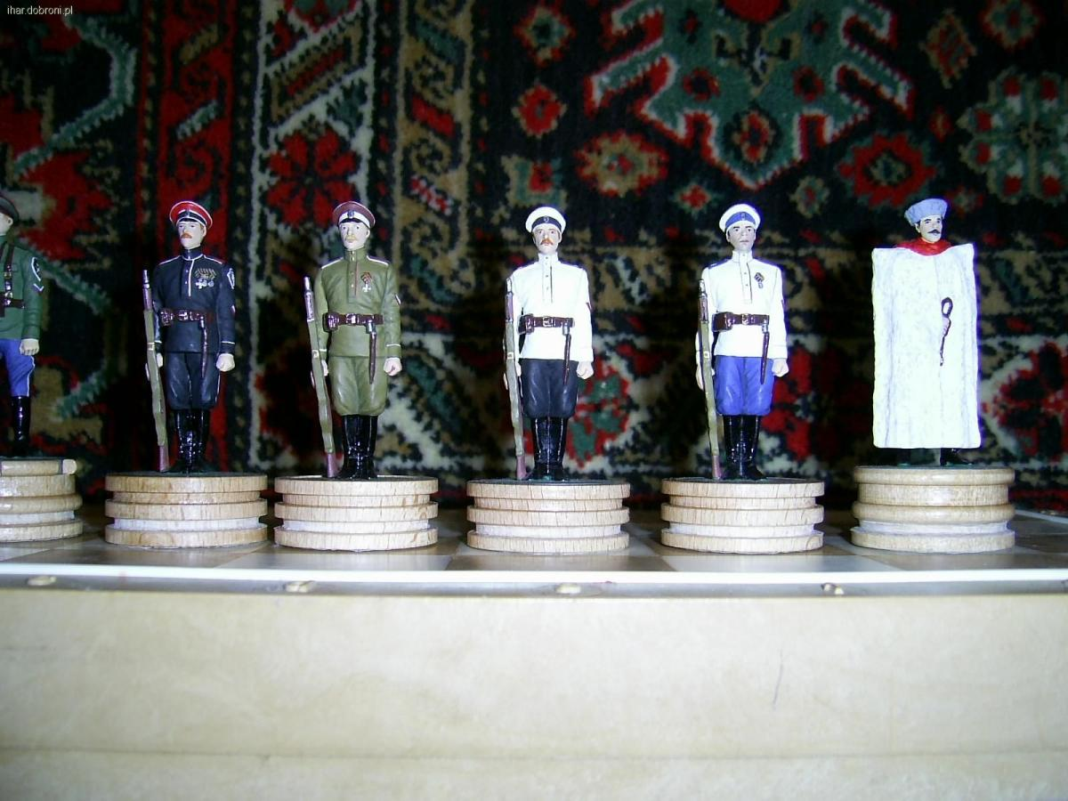 Dioramy, Figurki żołnierzy armii rosyjskiej - zdjęcie, fotografia
