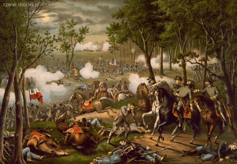 Imprezy historyczne, Chancellorsville - zdjęcie, fotografia