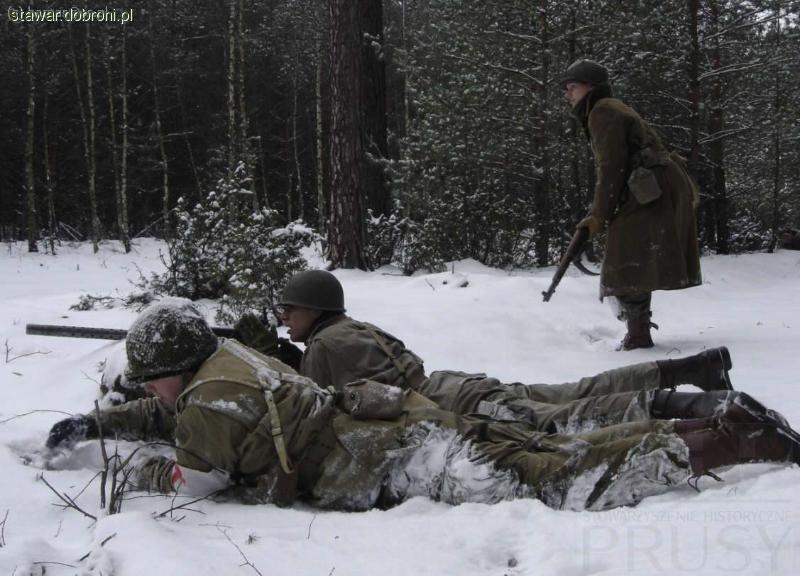 Imprezy historyczne, Battle Bulge relacja szkolenia rekonstruktorów - zdjęcie, fotografia