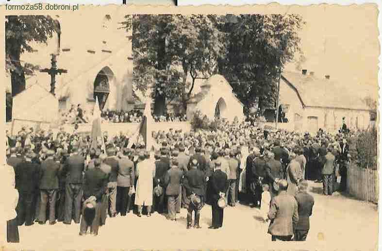 Wspomnienia, Miedźno cmentarz Kwatera żołnierzy Wołyńskiej Brygady Kawalerii - zdjęcie, fotografia