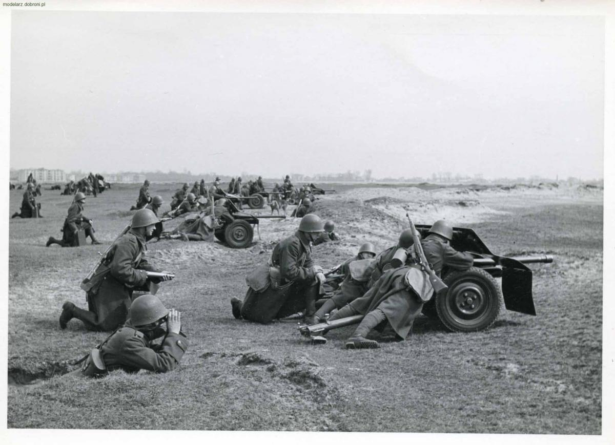 Artyleria, Armata przeciwpancerna Bofors - zdjęcie, fotografia