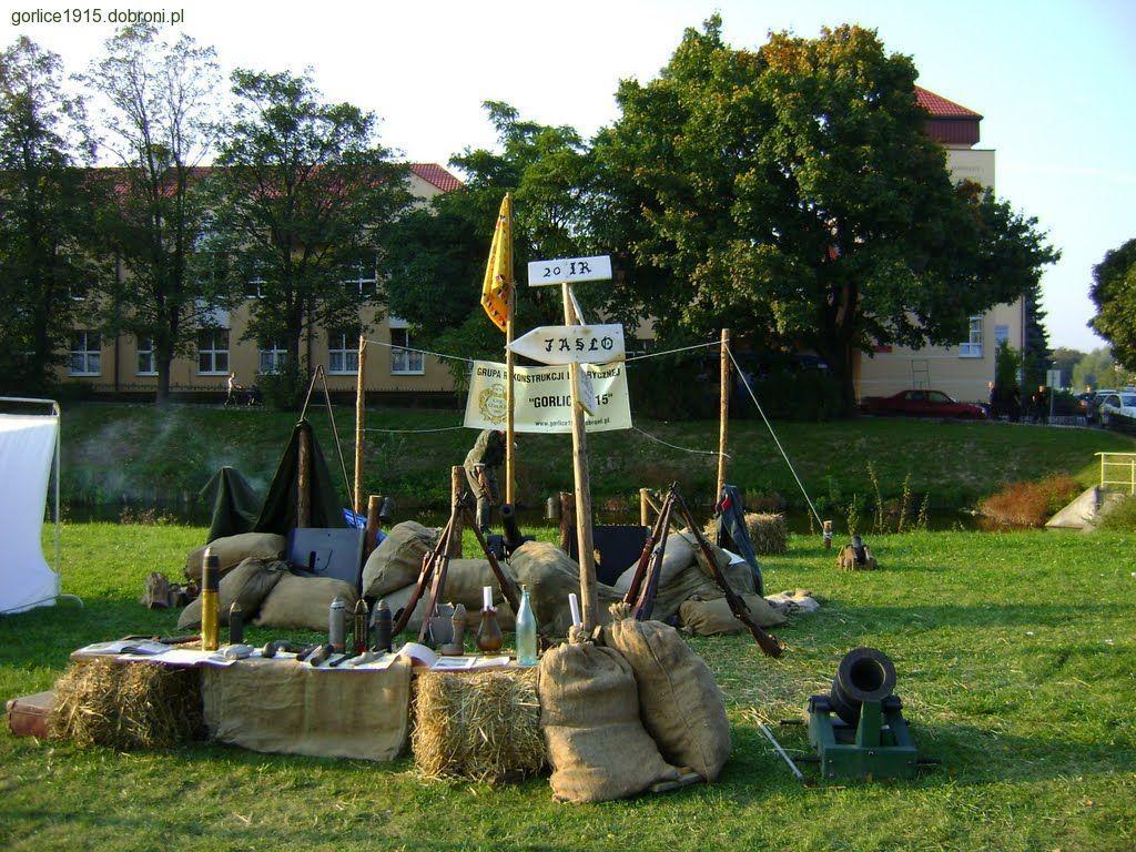 Imprezy historyczne, Debiut Gorlice Polach chwały - zdjęcie, fotografia
