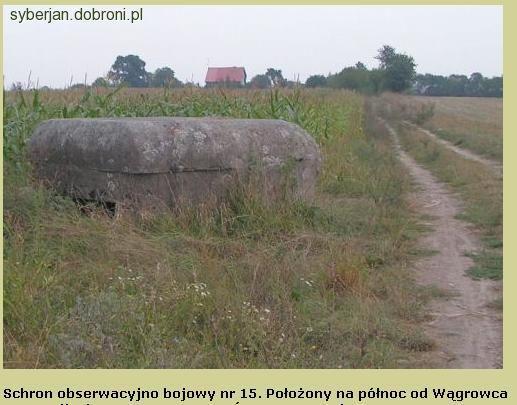 Bunkry i fortyfikacje, ARMIA POZNAŃ Odcinek Wągrowiec Gołańcz Wągrowiec - zdjęcie, fotografia