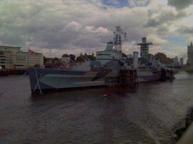 Marynarka wojenna, Krążownik BELFAST muzeum - zdjęcie, fotografia