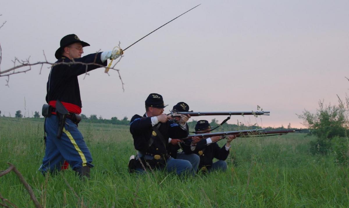Imprezy historyczne, Unijno Konfederacki Obóz Integracyjny - zdjęcie, fotografia