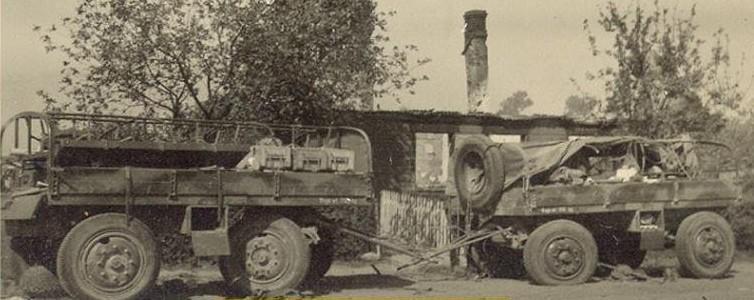 Modele czołgów, Bofors przyczepa amunicyjna - zdjęcie, fotografia