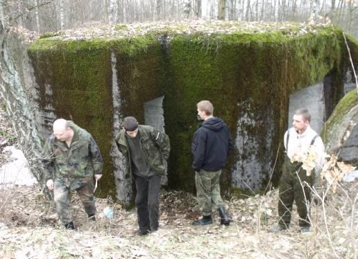 Bunkry i fortyfikacje, Bitwa mławska schrony ocalić zapomnienia rekonstrukcja - zdjęcie, fotografia