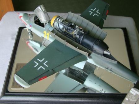 Modele samolotów, Heinkel Salamander - zdjęcie, fotografia