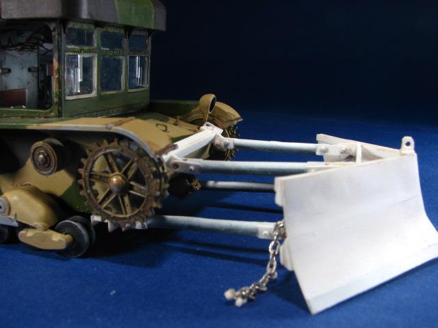 Modele czołgów, Spychacz C7P/7TP - zdjęcie, fotografia