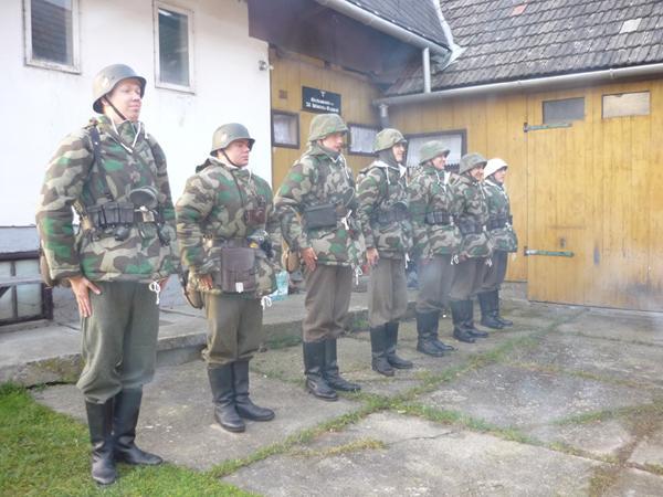 Imprezy historyczne, Manewry jesienno zimowe Infanterie Regiment Sekcja Niemiecka Wrzesień - zdjęcie, fotografia