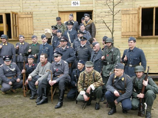 Imprezy historyczne, Żagań próby przed inscenizacją - zdjęcie, fotografia