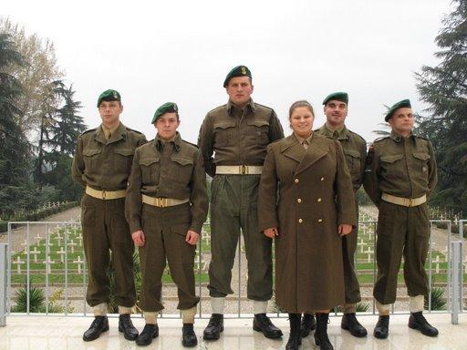 Imprezy historyczne, Samodzielna Kompania Commando wyprawa Italia - zdjęcie, fotografia