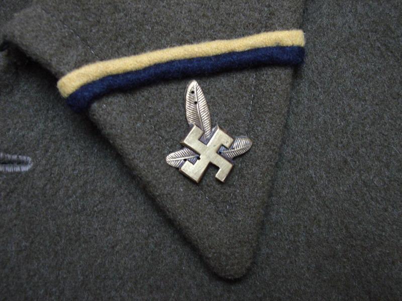 Odznaki wojskowe odznaczenia, Odznaki Pułku Strzelców Podhalańskich Cieszyna - zdjęcie, fotografia