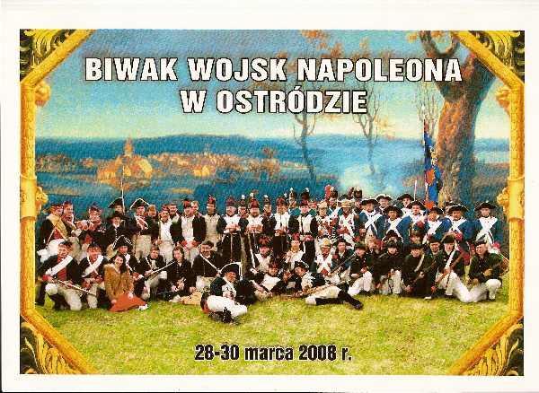 Imprezy historyczne, Kampania rosyjska Ostróda biwak wojsk napoleońskich - zdjęcie, fotografia