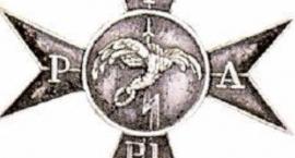 Odznaka 1 Pułku Artylerii Przeciwlotniczej