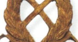 Emblemat ucznia Szkoły Podoficerskiej Pułku Kawalerii