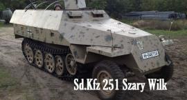 Sd Kfz 251 odrestaurowany w Panzer Farm