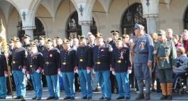 UROCZYSTA  ZMIANA  WARTY  W  KRAKOWIE  31.10.2013.