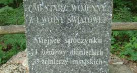 Leszczewek - cmentarz z czasów I Wojny Światowej.