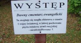 Występ - cmentarz z nieoznaczoną mogiłą...