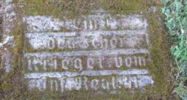 Cmentarz pierwszowojenny Bolimowska Wieś