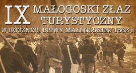 IX Małogoski Złaz Historyczny w 153  rocznicę lutowej Bitwy Małogoskiej