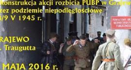 Rekonstrukcja rozbicia PUBP w Grajewie - 08 maja 2016