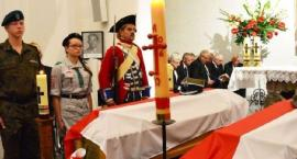 Warta przy szczątkach Inki i Zagończyka w Gdańsku