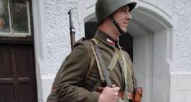 Żołnierz Górnośląskiej Brygady ON, Zaolzie 1938.