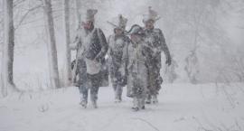 Toprzyny 1807, marsz zimowy