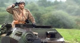 Pokaz dynamiczny broni pancernej pod Tomaszowem - wideo