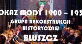 Pokaz mody historycznej 1900 - 1939 w wykonaniu GRH Bluszcz w Arkadach Kubickiego w Zamku Królewskim