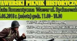 Wawerski Piknik historyczny. Sobota 16 czerwca 2018 r. - Plaża Romantyczna. Rekonstrukcja - Wrzesień