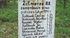 Mogiła rozstrzelanych żołnierzy AK w Bolimowskim Parku Krajobrazowym