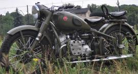 Renowacja legendarnego radzieckiego motocykla M-72