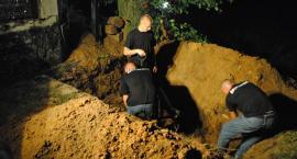 Ekshumacja kpt. Raginisa i por. Brykalskiego sierpień 2011r.